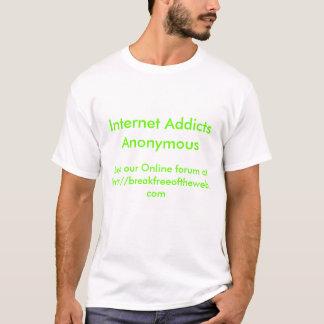 Adictos al Internet anónimos Playera