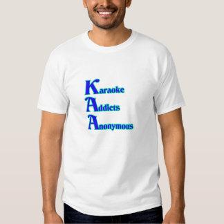 Adictos al Karaoke anónimos Camisas