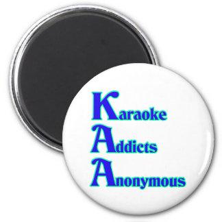 Adictos al Karaoke anónimos Imán Redondo 5 Cm