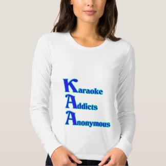 Adictos al Karaoke anónimos Poleras