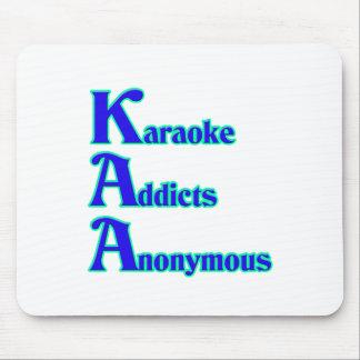 Adictos al Karaoke anónimos Tapete De Ratón