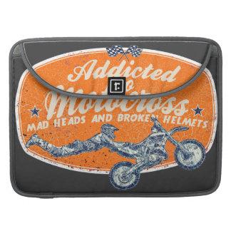 Adictos al motocrós funda macbook pro