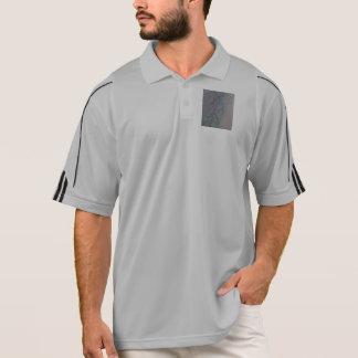 Adidas ClimiLite de Meen una mitad tirón de la Polo