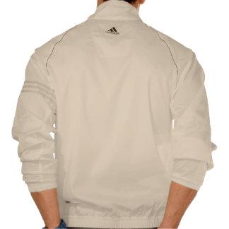 Adidas de los hombres de la regla de los chaquetas