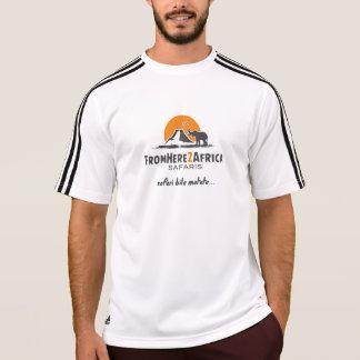 Adidas de los hombres wicking la camisa