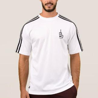 Adidas with Down Blvd logo T-shirt