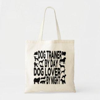 Adiestrador de perros del amante del perro bolsa tela barata