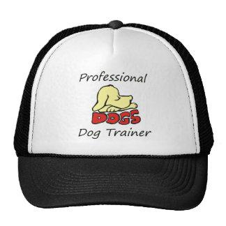 Adiestrador de perros profesional gorra