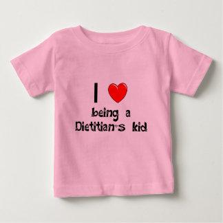 adiete el amor de I que es camiseta del niño un Polera