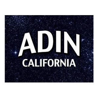 Adin California Postales