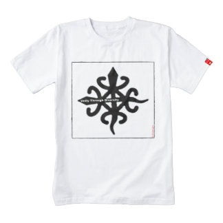 Adinkra African Symbol: Unity through Diversity Zazzle HEART T-Shirt