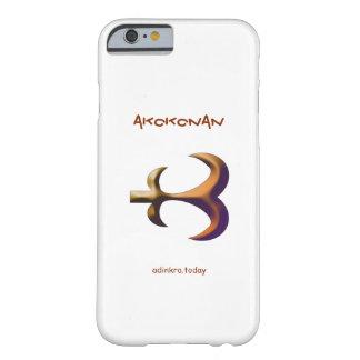 Adinkra - Akokonan - cubierta del teléfono Funda Para iPhone 6 Barely There
