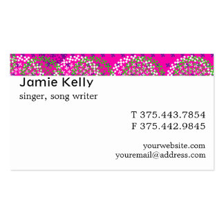 Adinkra Akoma Hearts Frost Business Cards