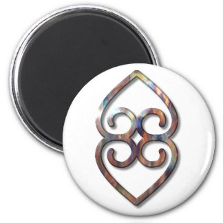Adinkra-earth-copper Magnet