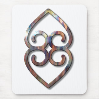 Adinkra-earth-copper Mouse Pad