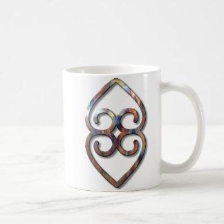 Adinkra-earth-copper Coffee Mugs