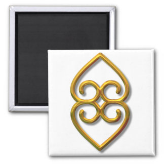 Adinkra-earth-gold Magnet