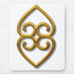 Adinkra-earth-gold Mouse Pads
