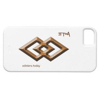 Adinkra - Epa - cubierta del teléfono iPhone 5 Funda