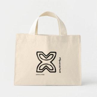 Adinkra - Fawohodie - bolso Bolsa De Tela Pequeña