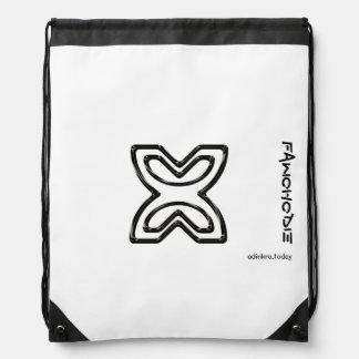 Adinkra - Fawohodie - mochila del lazo