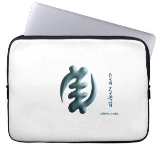 Adinkra - Gye Nyame Computer Sleeve