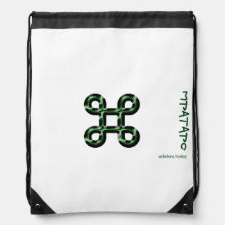 Adinkra - Mpatapo - Drawstring backpack