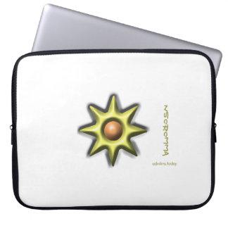 Adinkra - Nsoromma Laptop Computer Sleeves