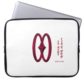 Adinkra - Nyame Biribi Wo Soro Laptop Computer Sleeves