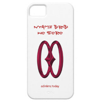Adinkra -  Nyame Biribi Wo Soro- phone cover iPhone 5 Case
