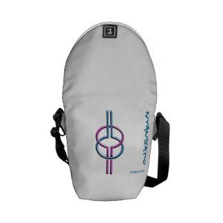 Adinkra - Nyansapo Messenger Bag