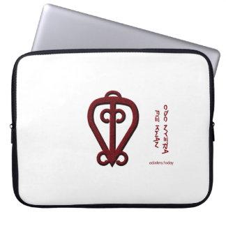 Adinkra - Odo Nyera Fie Kwan Laptop Sleeve