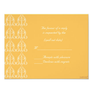 adinkra odo nyera (love finds its way) beeswax rs 4.25x5.5 paper invitation card
