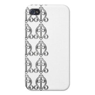 adinkra odo nyera (love finds its way) olivine iPhone 4 cover