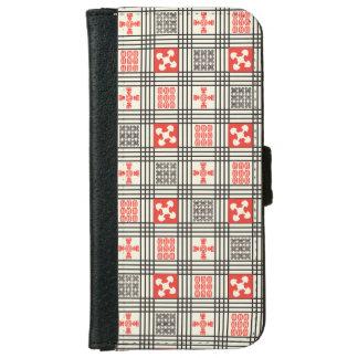 Adinkra pattern iPhone 6 wallet case