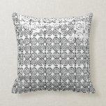 Adinkra Pattern Pillow