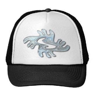 Adinkra-peace-glass Trucker Hat