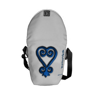 Adinkra - Sankofa Courier Bags