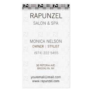 Adinkra West African textile Business Card