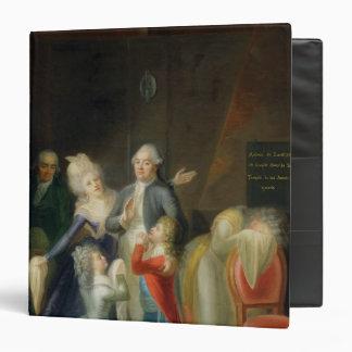 """Adiós a Louis XVI de su familia Carpeta 1 1/2"""""""