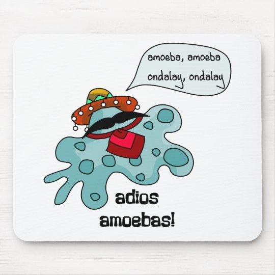 Adios Amoebas Mouse Pad