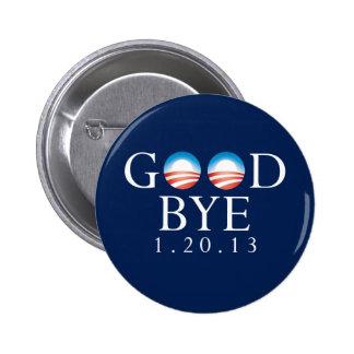 Adiós botón de Obama Pin Redondo De 2 Pulgadas