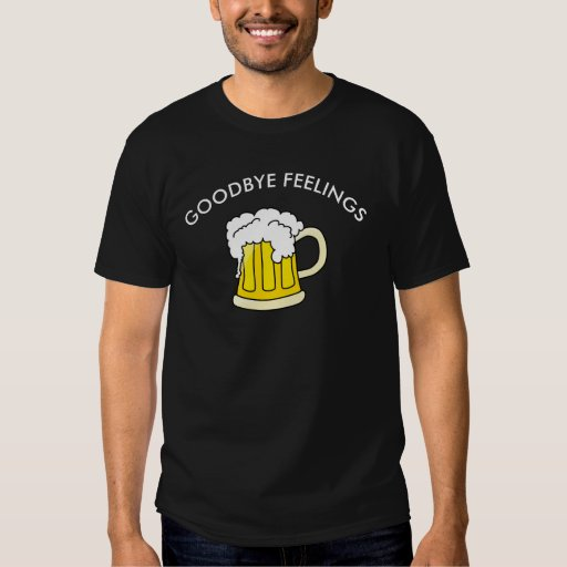 Adiós camiseta de la cerveza de las sensaciones polera