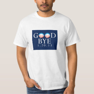 Adiós camiseta del valor de Obama Remera