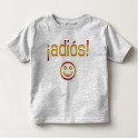 ¡¡Adiós! Colores de la bandera de España T Shirt