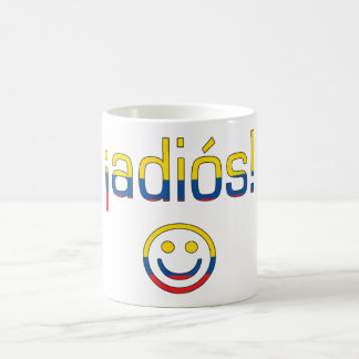 ¡Adiós! Ecuador Flag Colors Coffee Mug