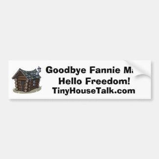Adiós Fannie Mae, hola pegatina para el parachoque Pegatina Para Auto
