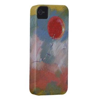 Adiós globo rojo iPhone 4 carcasas