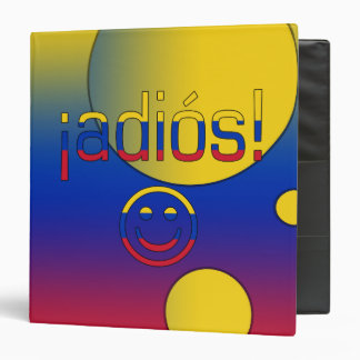 ¡¡Adiós! La bandera de Venezuela colorea arte pop