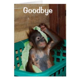 Adiós, le faltarán tarjeta pequeña